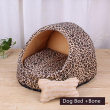 Load image into Gallery viewer, Pet Dog Bed Warming Soft Material House