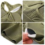Seamless Sports Bra Olive