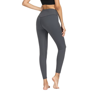 Gray High Waist Soft Yoga Pants