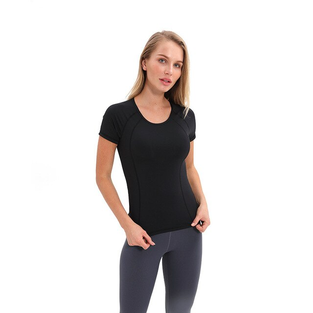 Round Neck Yoga Shirt