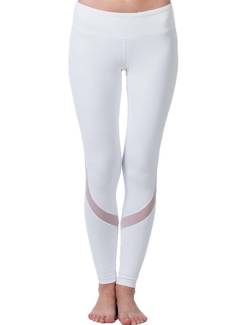 Second Skin Yoga Pants White