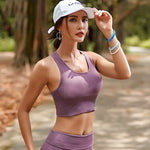 Seamless Sports Bra Purple