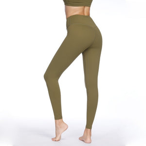 Olive High Waist Soft Yoga Pants