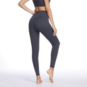 Dark Gray High Waist Soft Yoga Pants