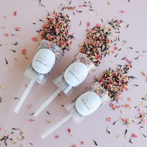 Sprinkle With Love Confetti Push Pops