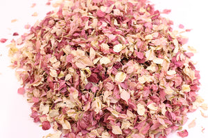 Mixed Pinks Natural Petal Wedding Confetti