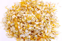 Orange/Ivory Natural Wedding Petal Confetti