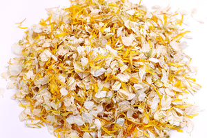 Yellow/Ivory Natural Petal Wedding Confetti