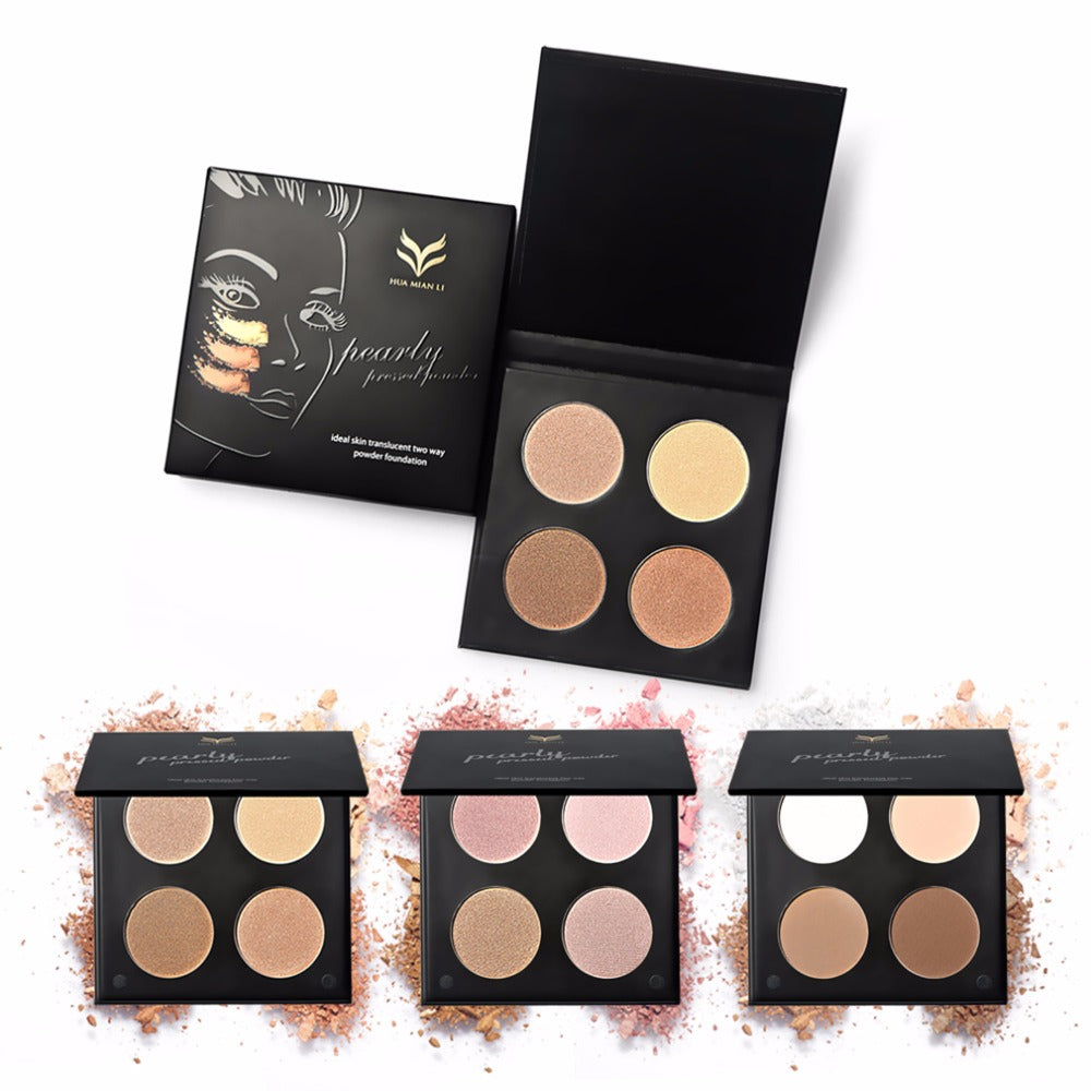 4 Colors Shimmer Matte Eye Shadow