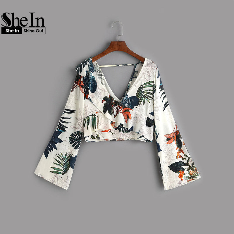 Off To The Keys Blouse