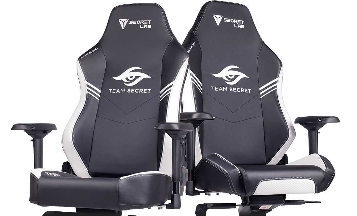 Secretlab x Team Secret - OMEGA and TITAN Special Edition Gaming Chairs