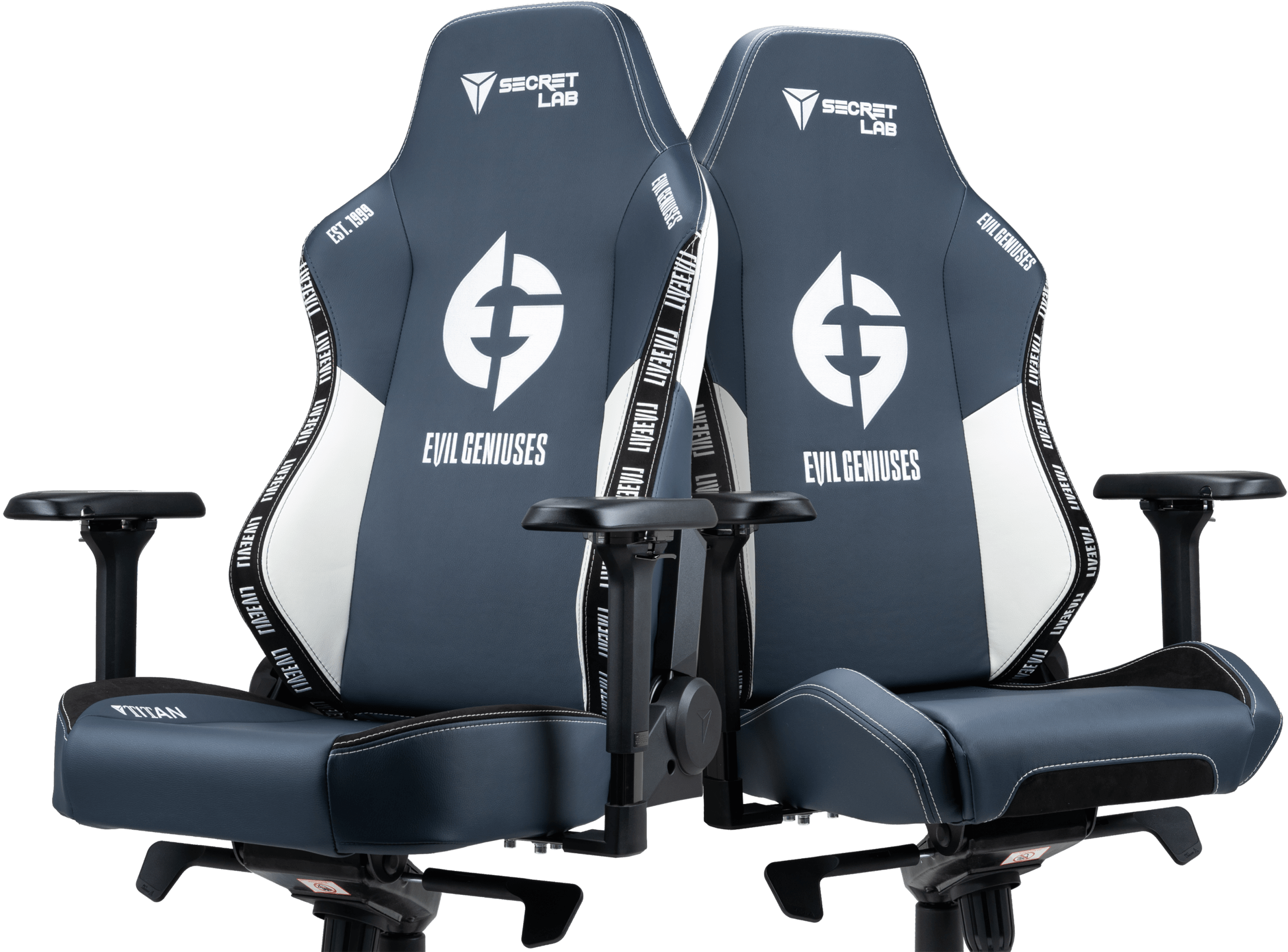 Secretlab x Evil Geniuses - OMEGA and TITAN Special Edition Gaming Chairs