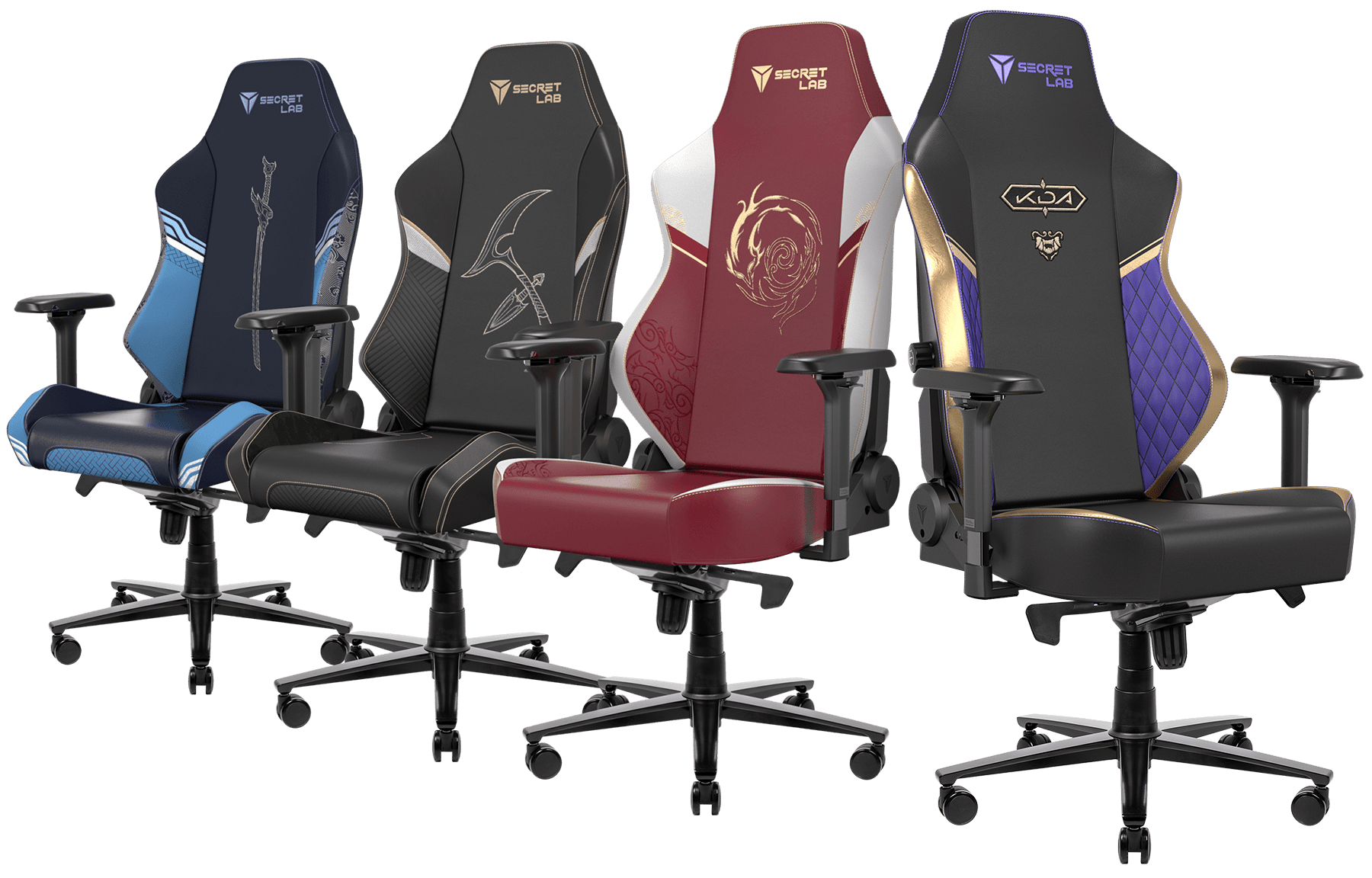 Secretlab x League of Legends Champions Collection - OMEGA and TITAN Special Edition Gaming Chairs