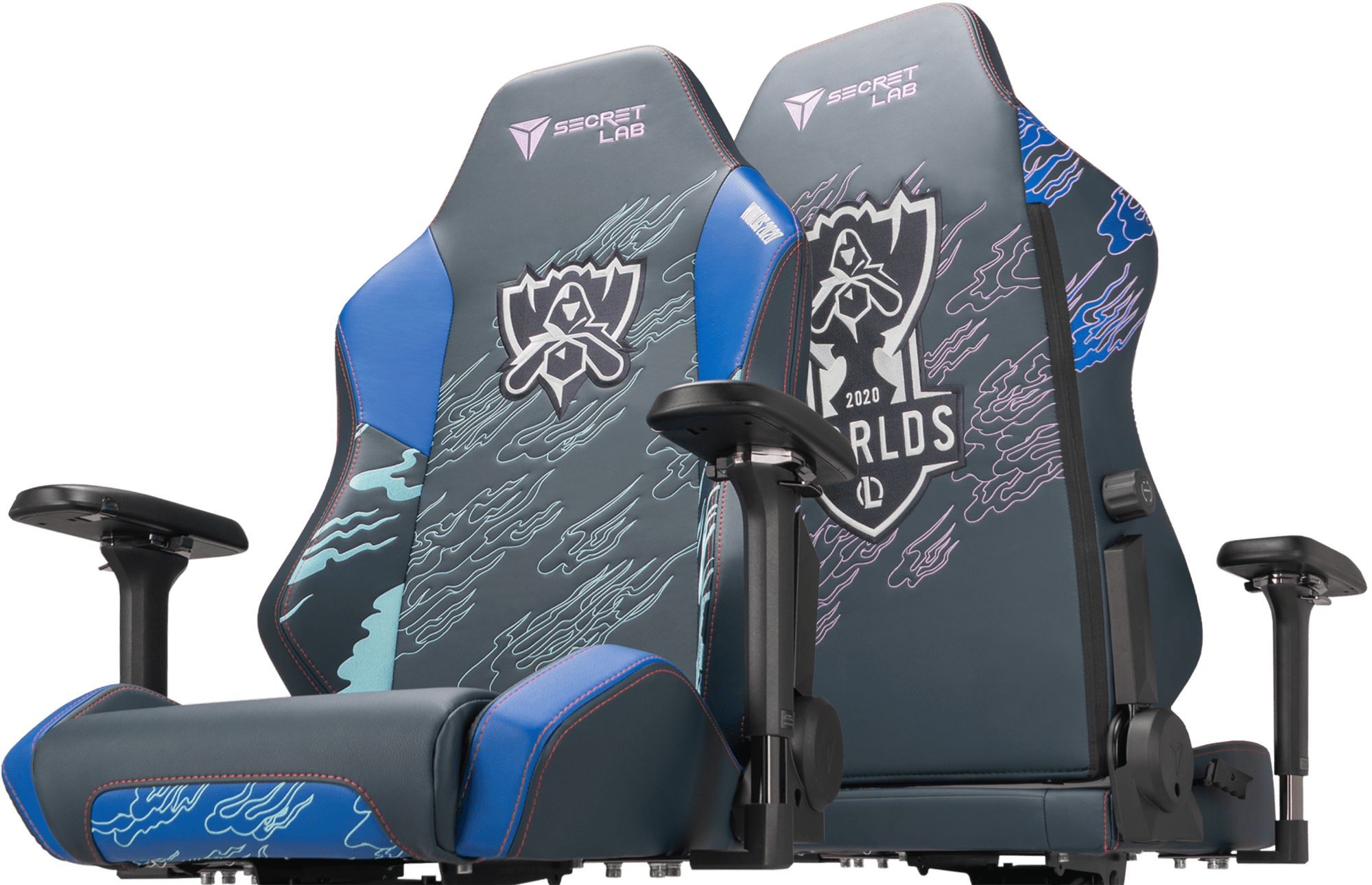 Secretlab x Worlds 2020 - OMEGA and TITAN Special Edition Gaming Chairs