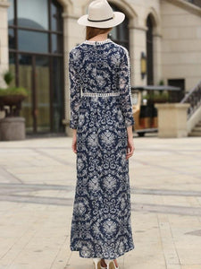 2017-new-large-long-sleeved-printing-dress
