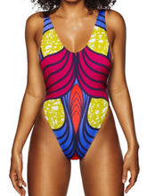 Load image into Gallery viewer, Sexy One-piece Printed Bikini Swimsuit