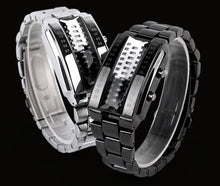 Load image into Gallery viewer, Creative LED Waterproof Electronic Couple Watch