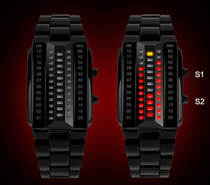 Creative LED Waterproof Electronic Couple Watch