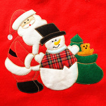 Load image into Gallery viewer, Christmas Santa Claus Tree Embroidery Decoration Ornaments Xmas Tree Apron
