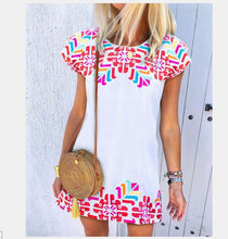 Load image into Gallery viewer, Summer European and American Women's Simple Dress