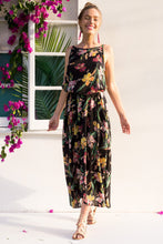 Load image into Gallery viewer, 2018 Summer Sleeveless Floral Print Beach Maxi Dress