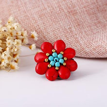 Load image into Gallery viewer, Bohemian Beach Hand-woven Flower Ring