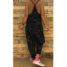 Load image into Gallery viewer, Sling Camouflage Loose Jumpsuit