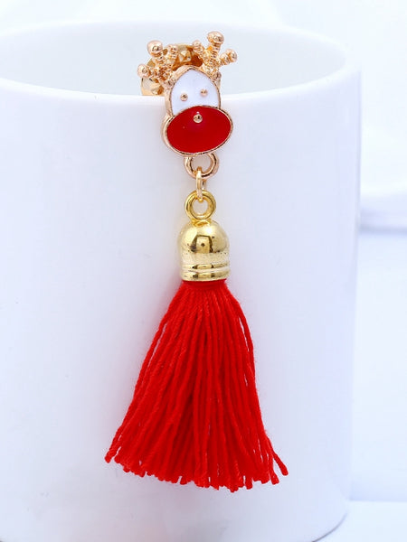 Fashion Christmas Tassel Brooch