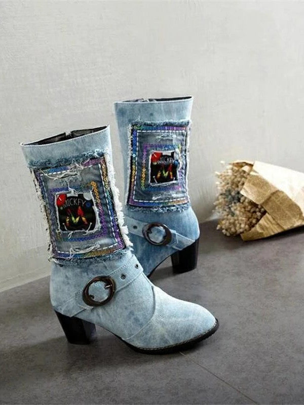 Autumn and Winter Fashion Women's Boots High Boots