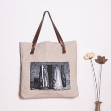 Load image into Gallery viewer, Casual Printing Linen Women Shoulder Bag