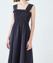 Load image into Gallery viewer, VINTAGE STRIPES MIDI DRESS