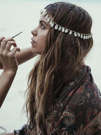 Bohemian Shell Chain Hair Accessories Headwear