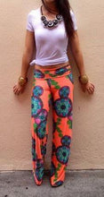 Load image into Gallery viewer, Casual Floral Printed Wide Leg Pants
