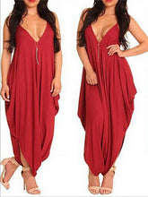 Load image into Gallery viewer, summer women sexy nightclub belt jumpsuits ladies dress