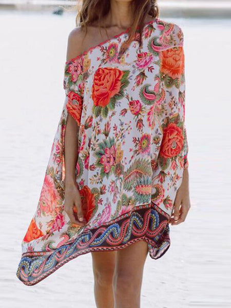 Sexy Chiffon Loose Swimwear Beach Bikini Cover Up