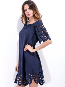 Fashion women Elegant Vintage sexy casual slim beach Dress