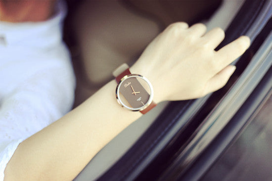 Creative Fashion Transparent Hollow Couple Watch