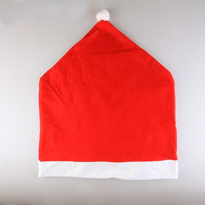 681b375f92173 New Santa Red Hat Chair Covers Christmas Decorations Dinner Chair ...