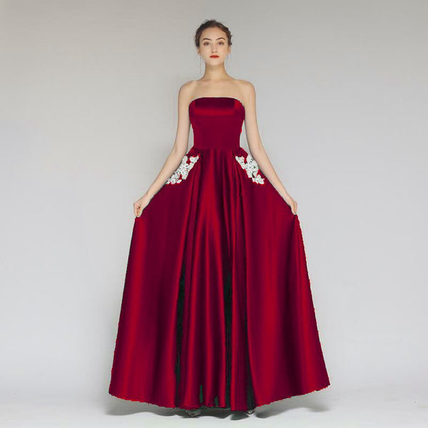 Sexy Off Shoulder Evening Party Maxi Dress