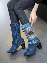 Load image into Gallery viewer, Autumn and Winter Fashion Women's Boots High Boots
