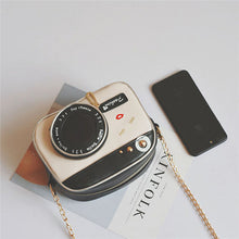 Load image into Gallery viewer, Cartoon Creative Camera Shape Crossbody Bag Shoulder Bags Chain Phone Bag For Women
