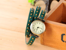 Load image into Gallery viewer, Three Rounds Watch Winding Digital Female Fashion Watch