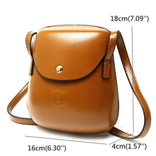 Load image into Gallery viewer, Women PU Leather Mini Crossbody bag Bucket Bag Phone Bag