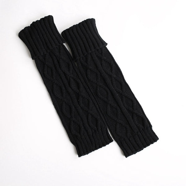 Boot cuff thick short-sleeved thick thick bamboo knit wool yarn socks - 9