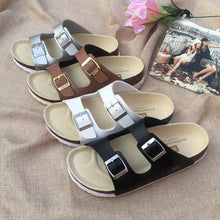 Load image into Gallery viewer, New Summer Casual Comfort Flat Heel Cork Slippers Sandals