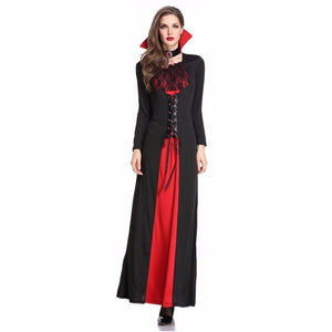 Cosplay Costumes Black Halloween EasterHorror Game Dresses In Women Girls Halloween Vampire Demon Performance Playing Costumes