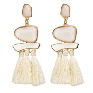 2a432325ce3b ... Trend Boho Vintage Statement Jewelry Ethnic Fringe Earrings Pendientes  Mujer Moda Long Tassel Earring for Xmas