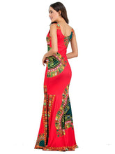 Load image into Gallery viewer, Elegant Mermaid Backless Bohemia Long Maxi Dresses