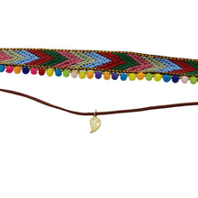 Load image into Gallery viewer, Ethnic colorful necklace Bohemia Wild style