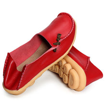 Load image into Gallery viewer, Big Size Soft Multi-Way Wearing Pure Color Flat Loafers